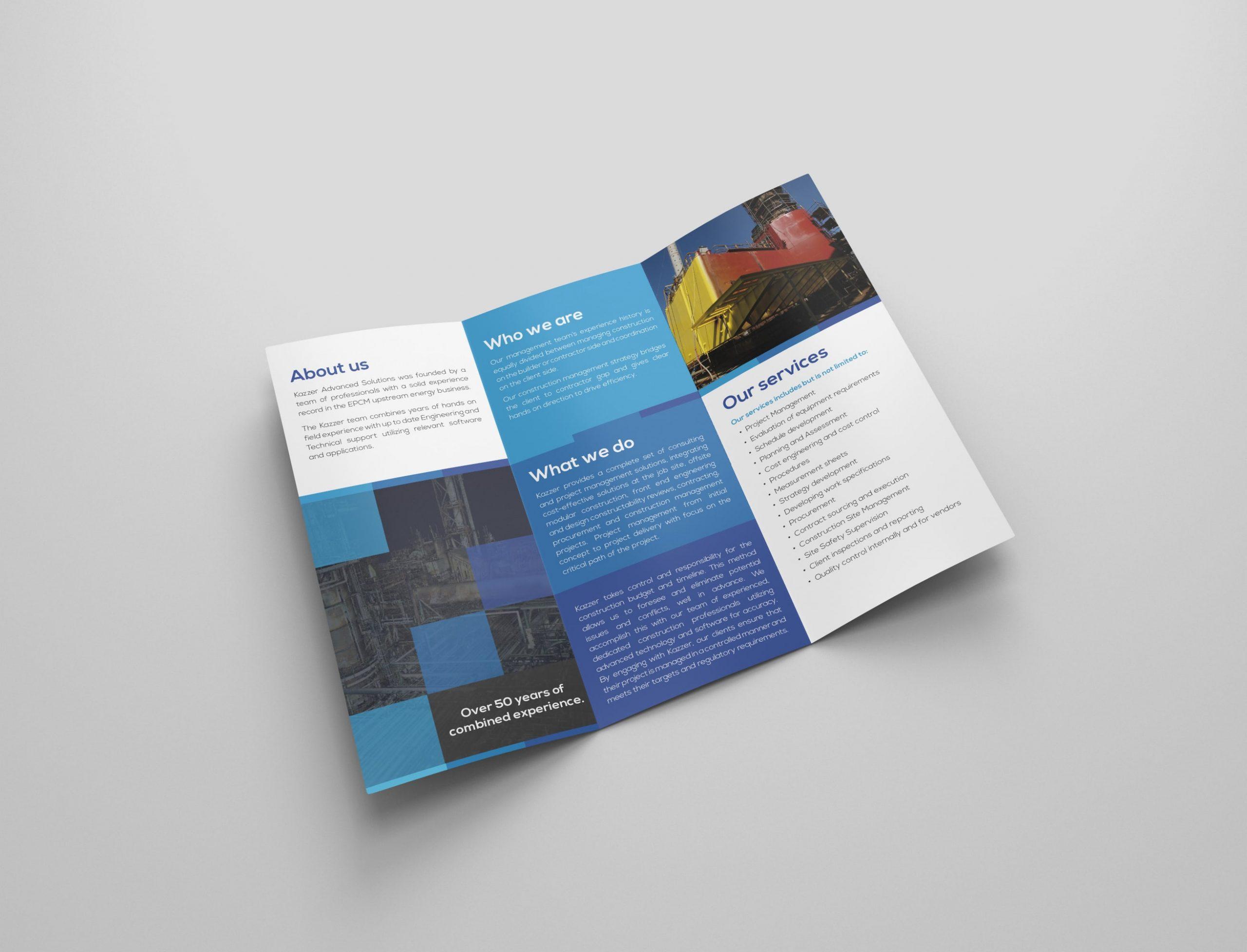 Custom Brochures Design